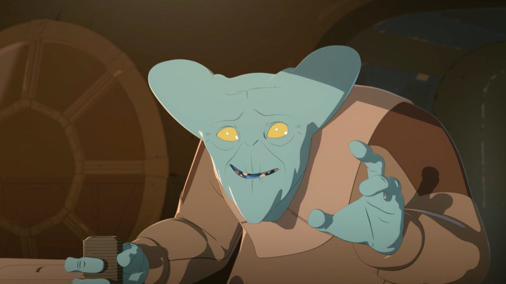 Garma in Star Wars Resistance.