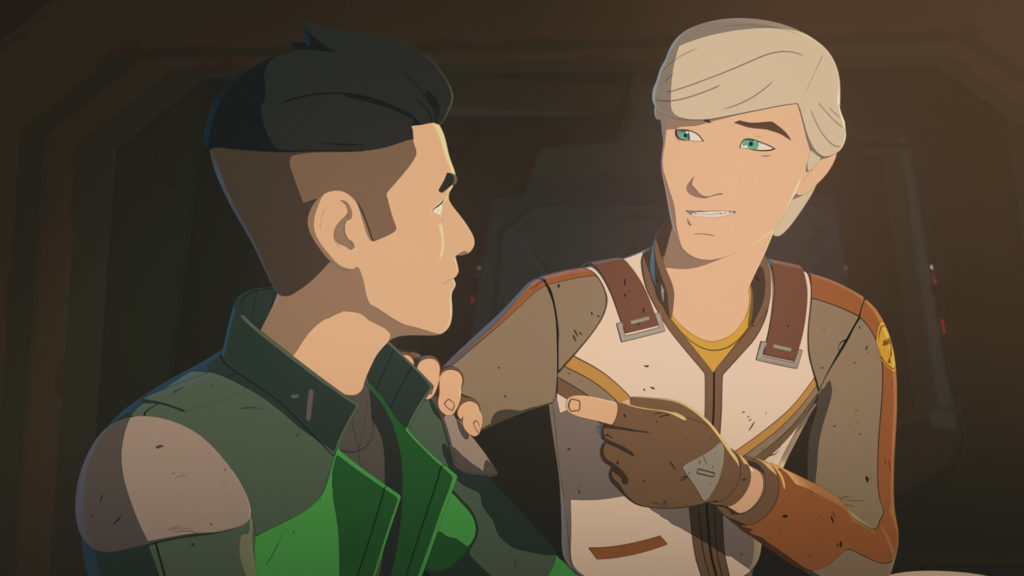 Jace Rucklin in Star Wars Resistance.