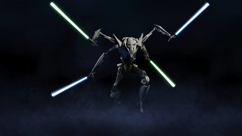 General Grievous, as depicted in Battlefront II