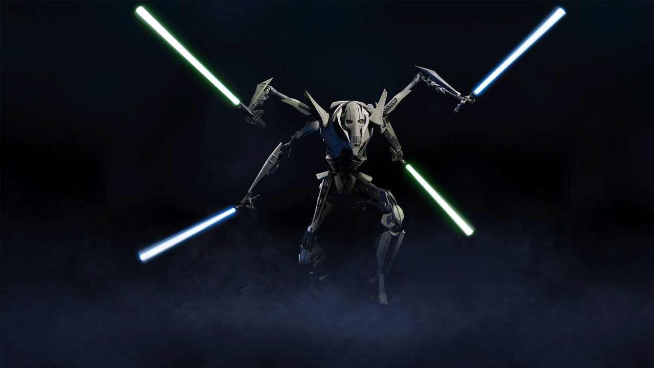 how to make general grievous