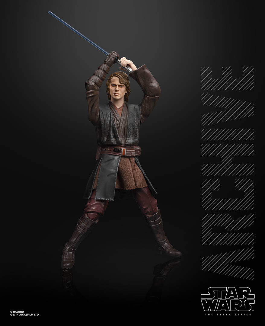 Hasbro Black Series Anakin Skywalker from the Archive collection.