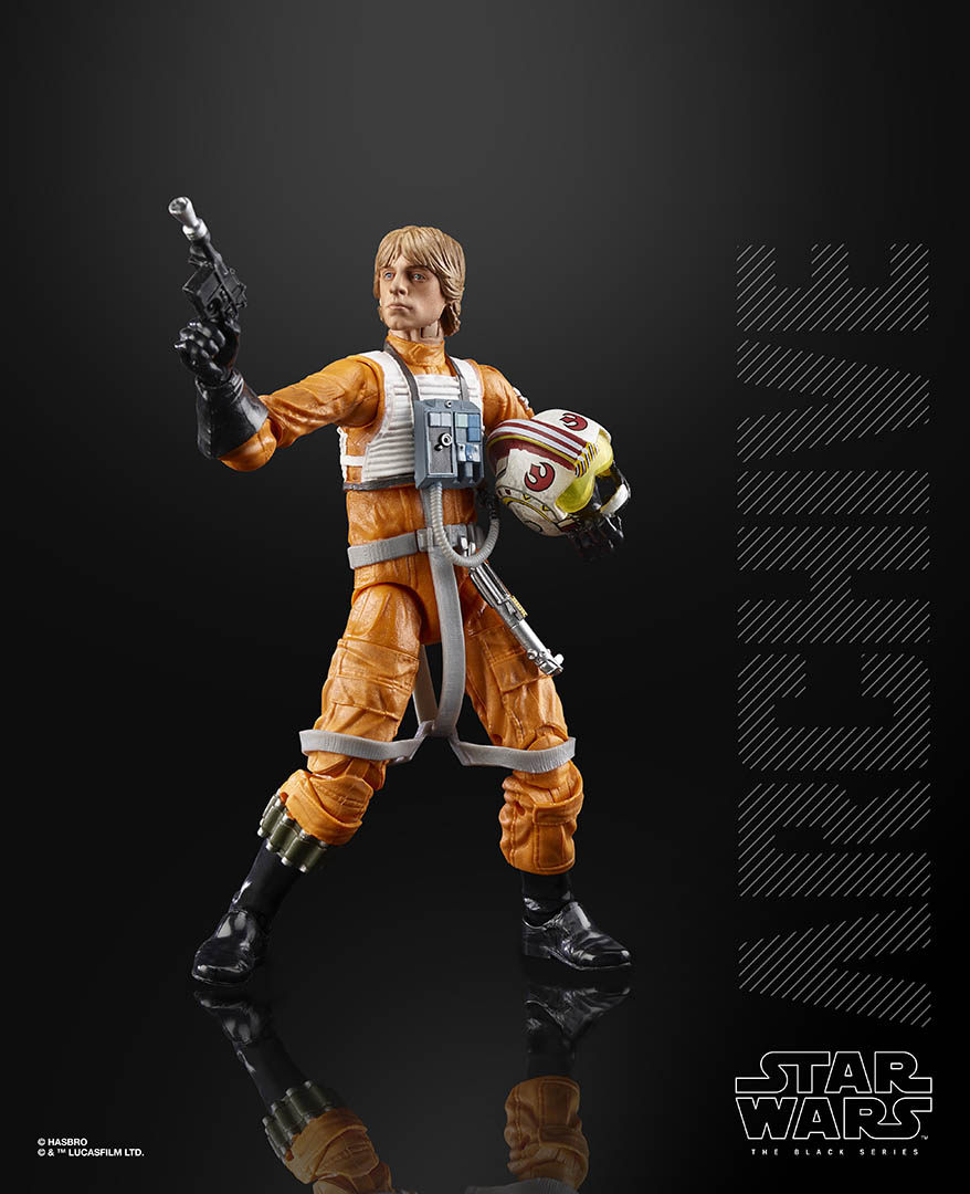 Hasbro Black Series Luke Skywalker from the Archive collection.