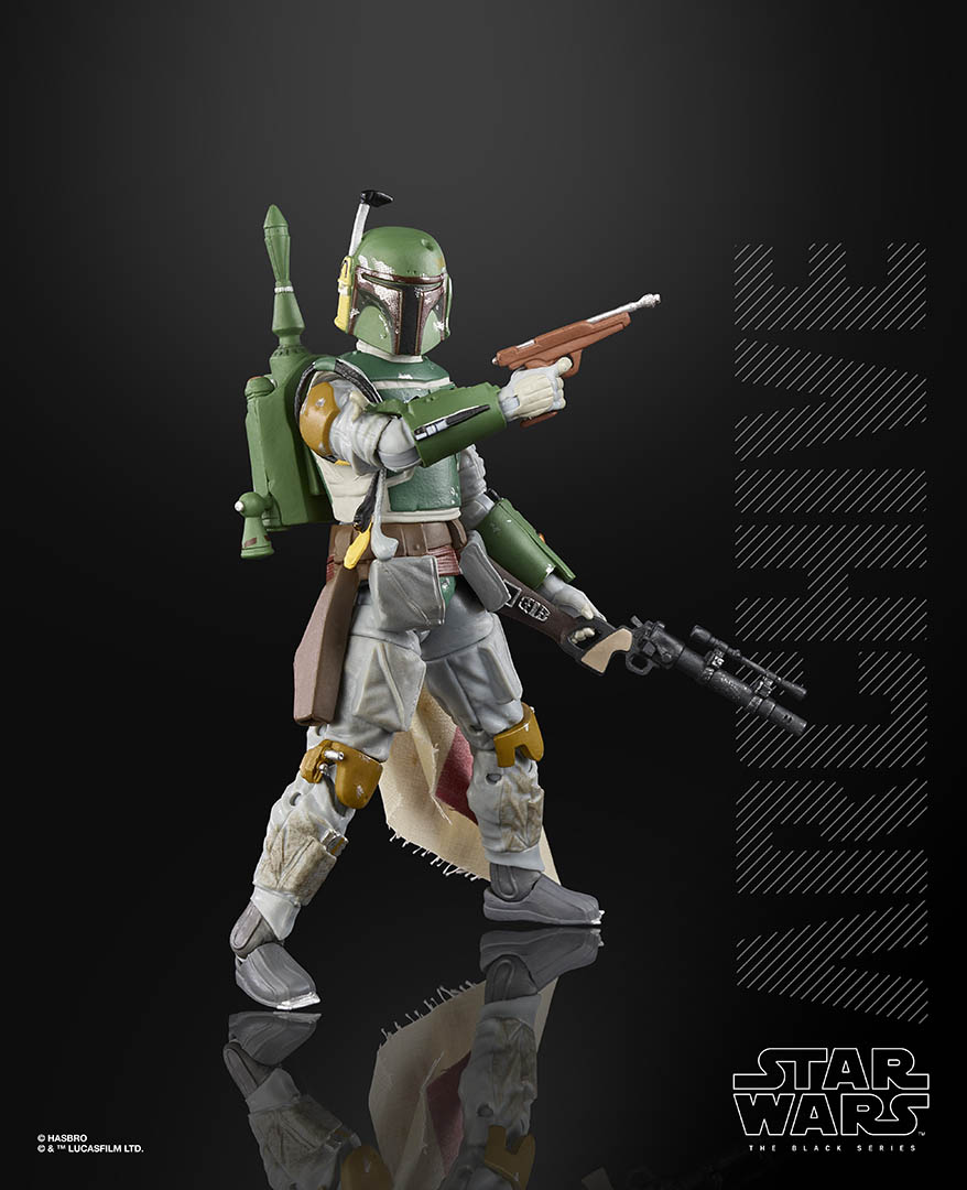 Hasbro Black Series Boba Fett from the Archive collection.