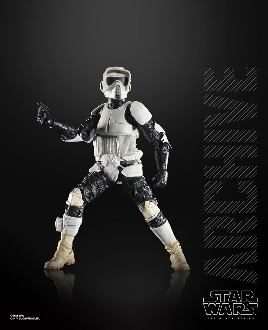 Hasbro Black Series Scout Trooper from the Archive collection.