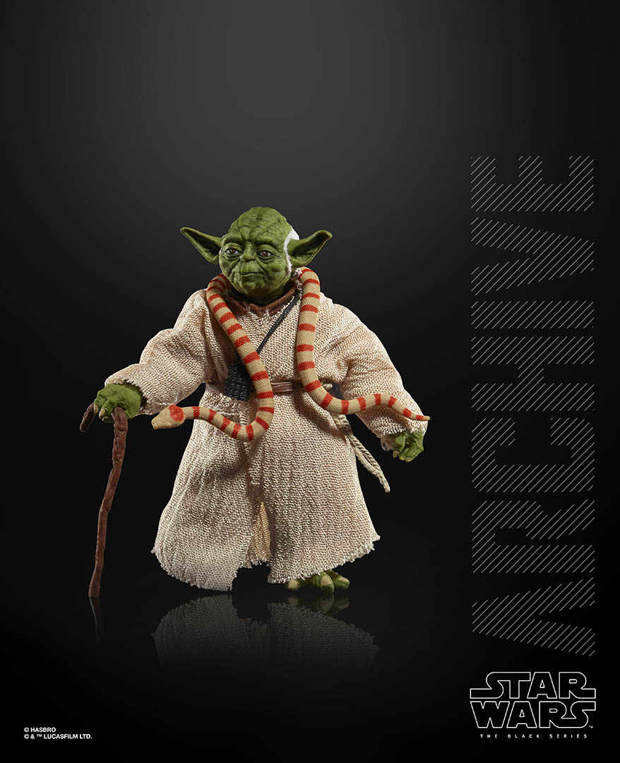 Hasbro Black Series Yoda from the Archive collection.