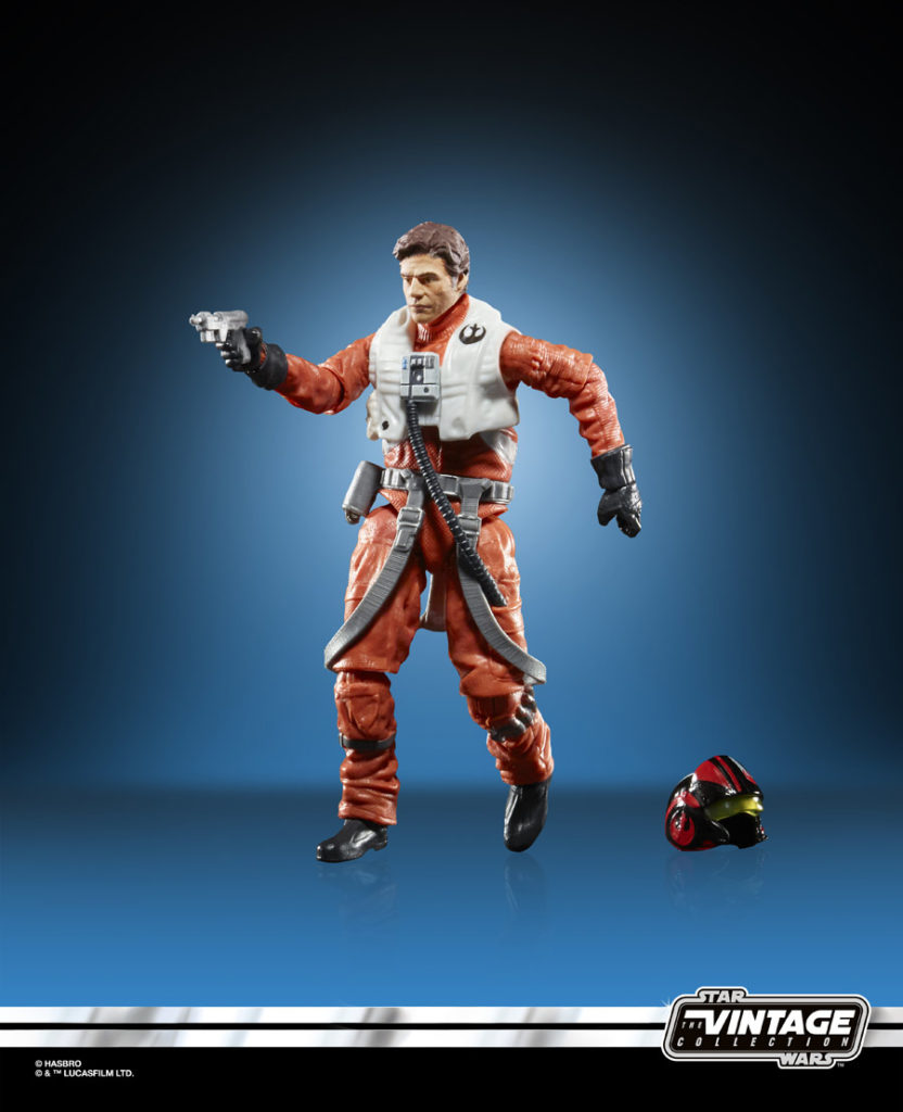 Poe Dameron Star Wars: The Vintage Collection figure.