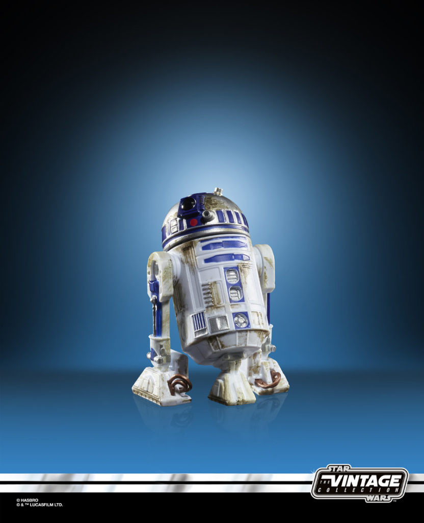 R2-D2 Star Wars: The Vintage Collection figure.