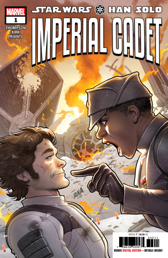 Han Solo: Imperial Cadet #1 cover.