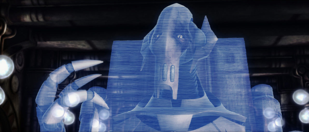 Damaged General Grievous In Lair Of Star Wars The Clone