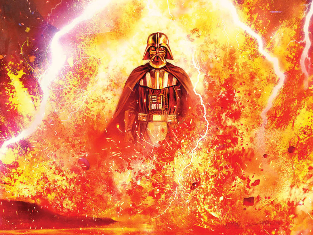 Darth Vader #25 cover image.