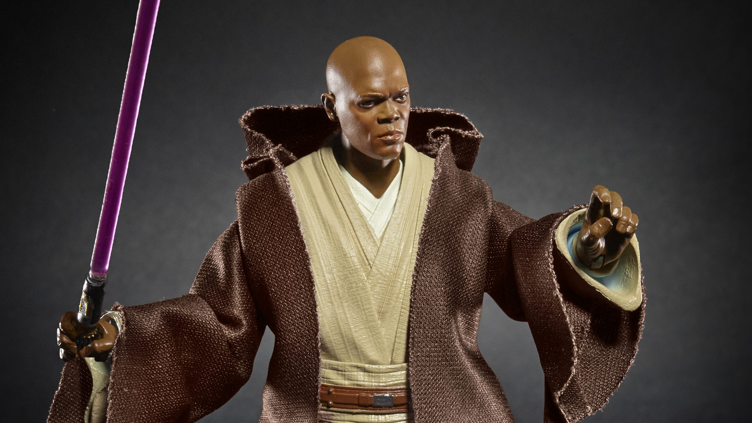 Mace Windu Star Wars: The Black Series figure.