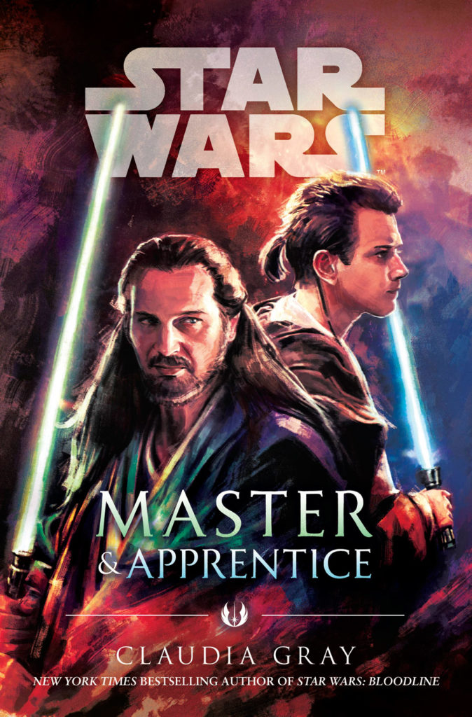 Star Wars: Master and Apprentice cover.