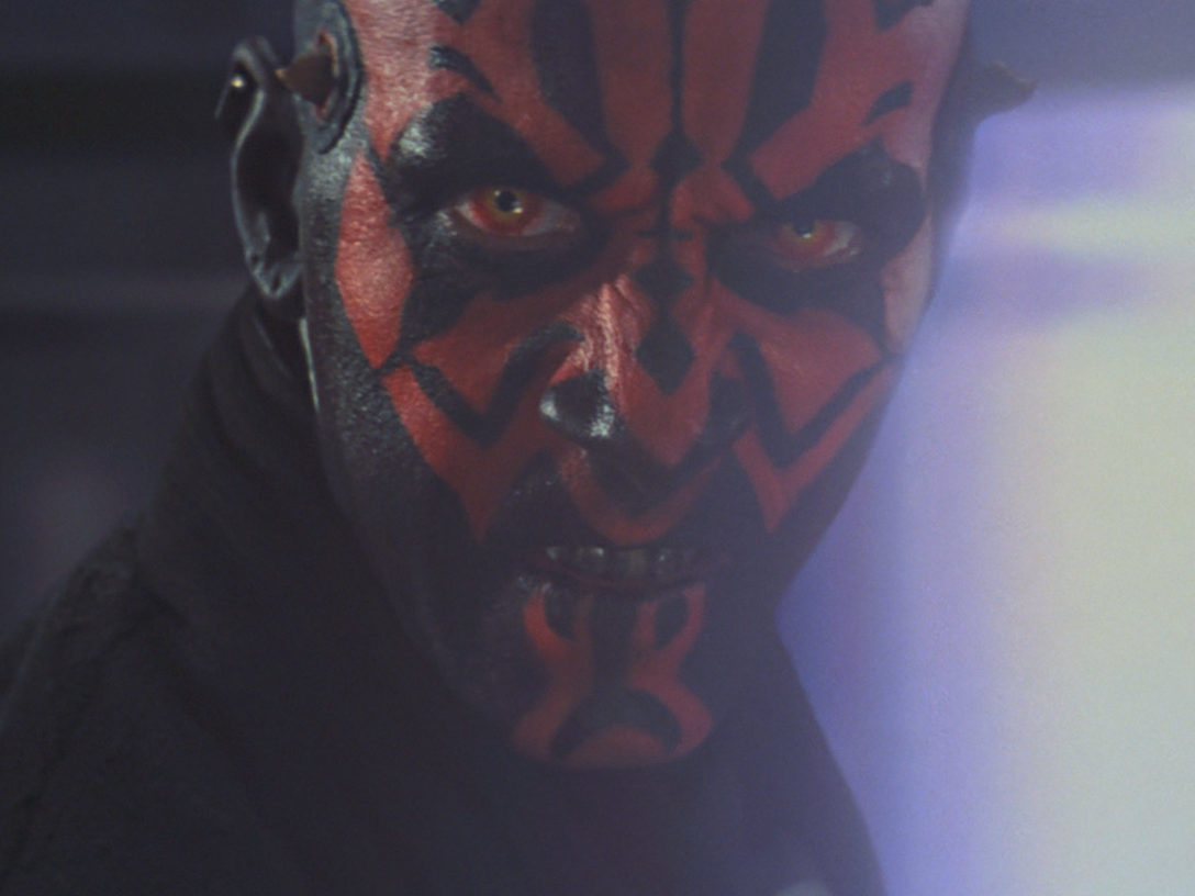 Darth Maul in Star Wars: The Phantom Menace.