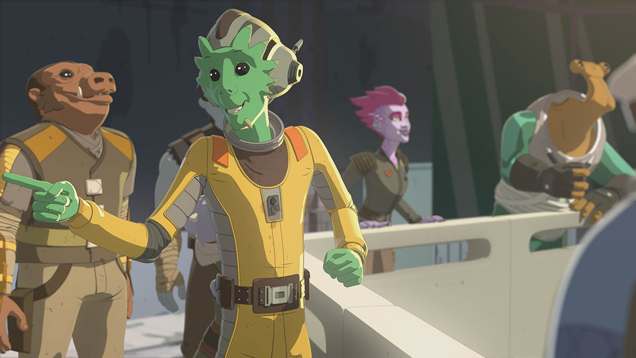 Neeku in Star Wars Resistance.