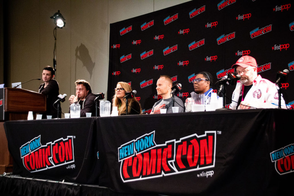 The Our Star Wars Stories panel at NYCC 2018.