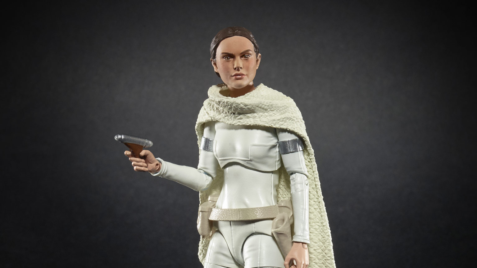 Padmé Amidala Star Wars: The Black Series figure.
