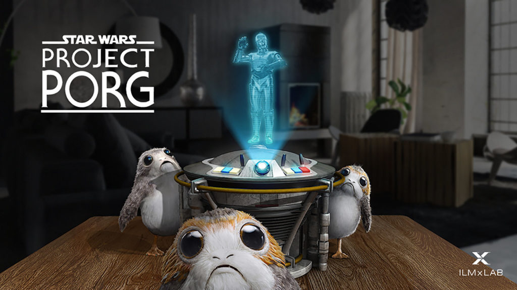 Key art from Star Wars: Project Porg.