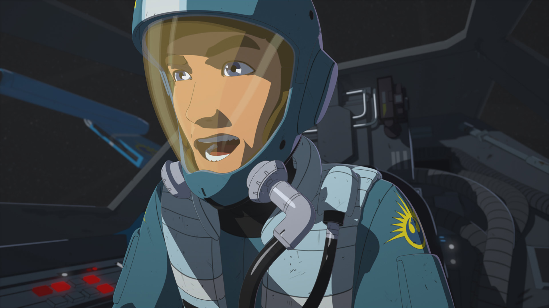 Kaz in Star Wars Resistance.