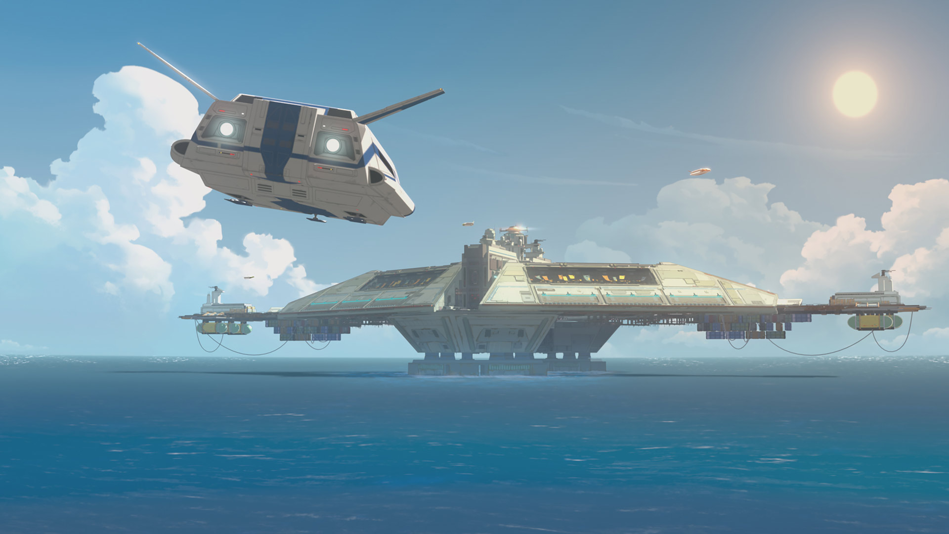 The Colossus in Star Wars Resistance.