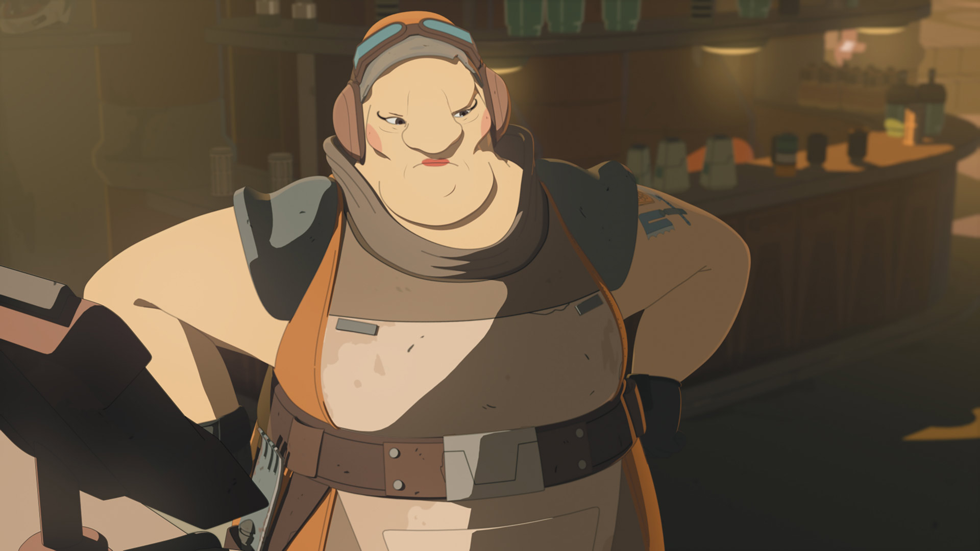 Aunt Z from Star Wars Resistance.