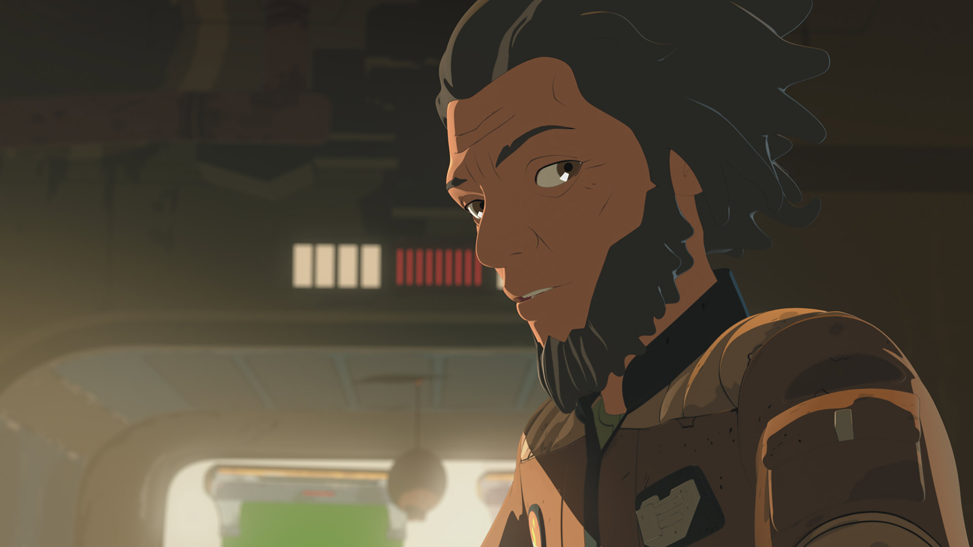 Yeager in Star Wars Resistance.