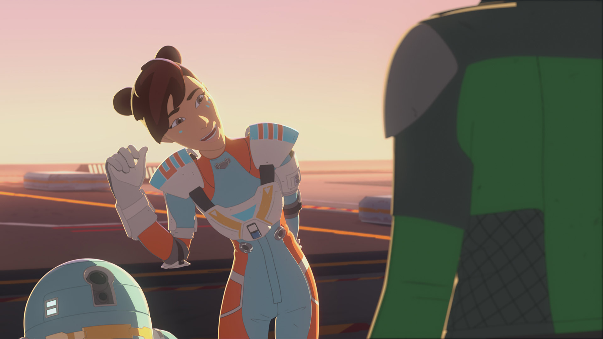 Torra in Star Wars Resistance.