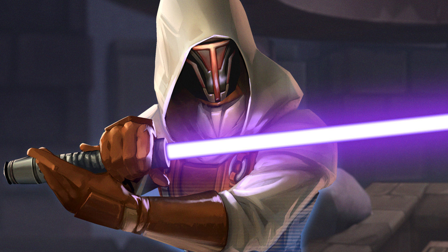 Jedi Knight Revan in Galaxy of Heroes.