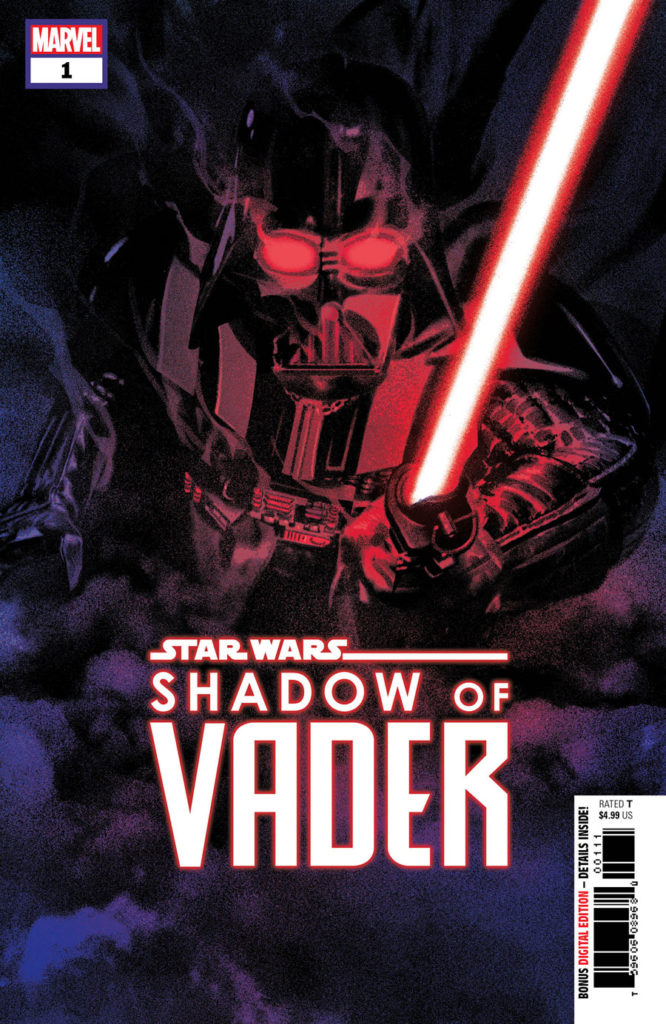 Shadow of Vader #1 cover.