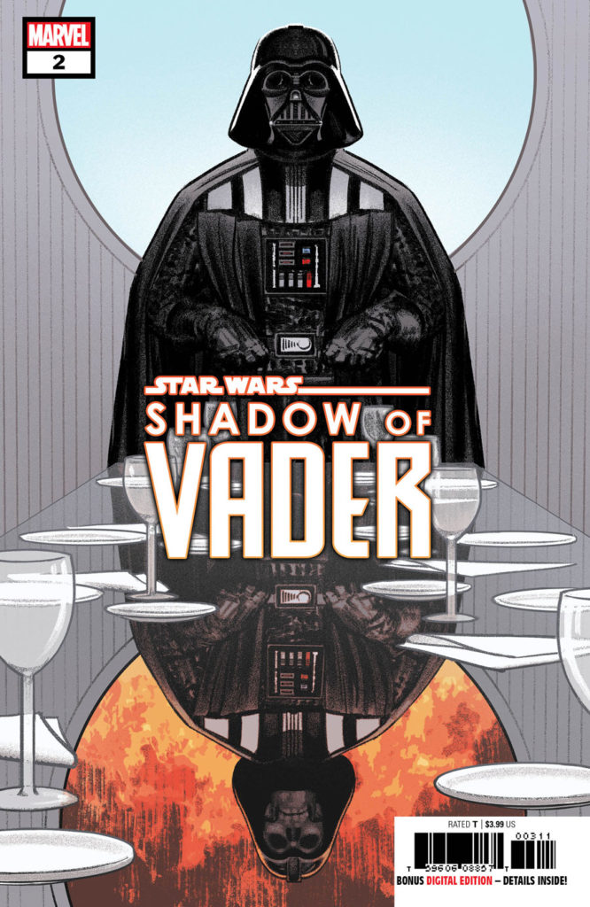 Shadow of Vader #2 cover.