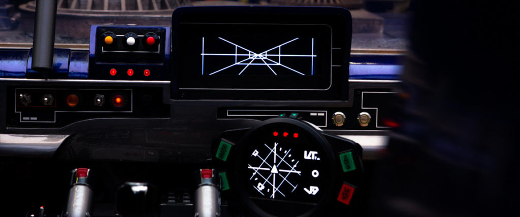 Han's speeder dashboard from Solo: A Star Wars Story.