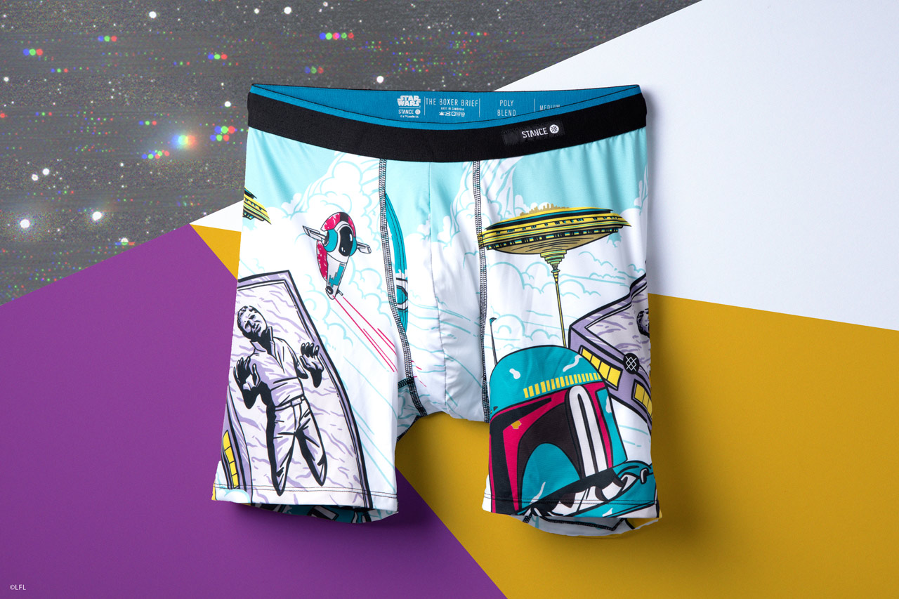 Stance's Star Wars underwear from the holiday 2018 collection.