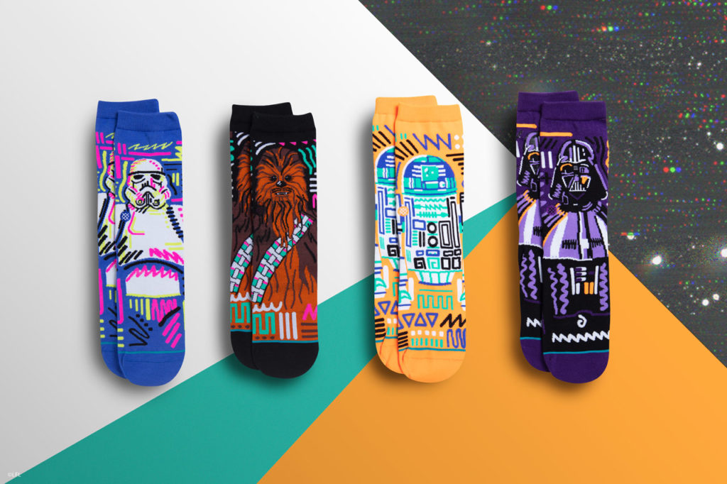 Stance's Star Wars socks: kids collection for holiday 2018.