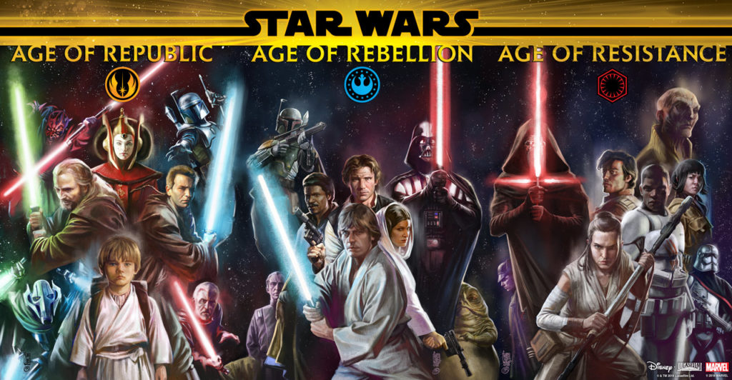 Star Wars Ages banner.