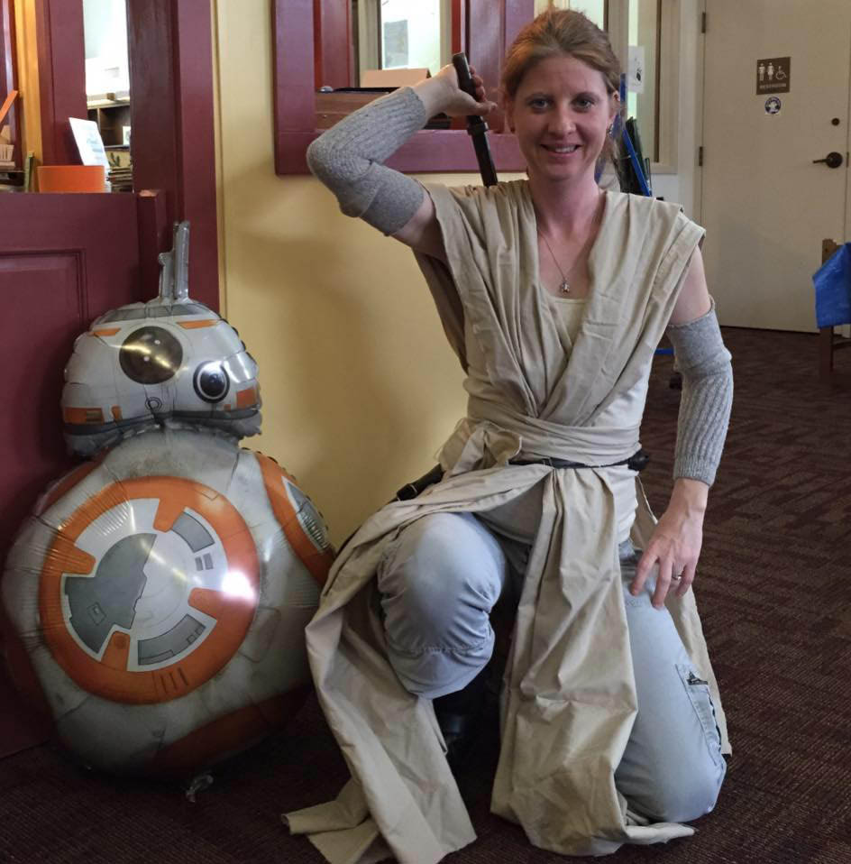 Star Wars Reads in Bloomsburg.