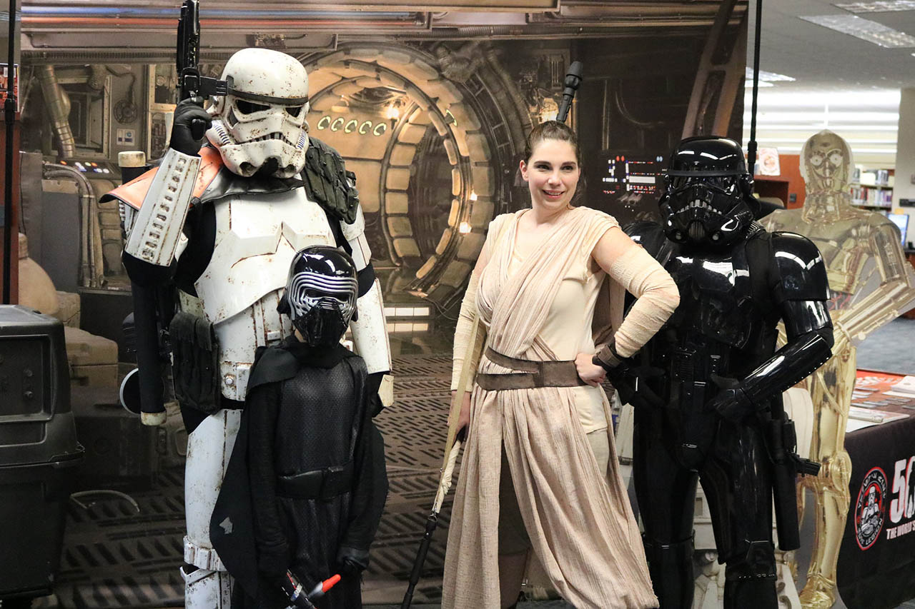 The 501st at Star Wars Reads in Charleston.