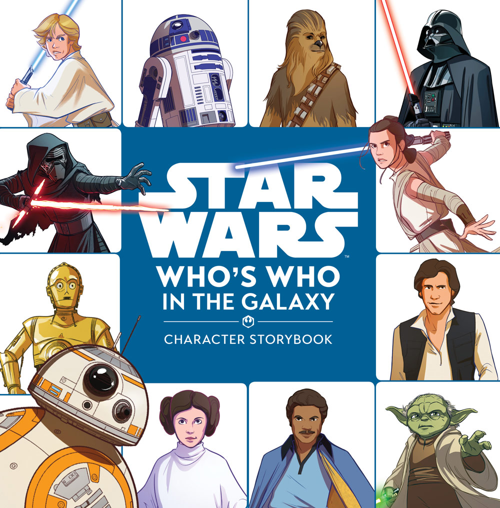 Star Wars: Who's Who cover.