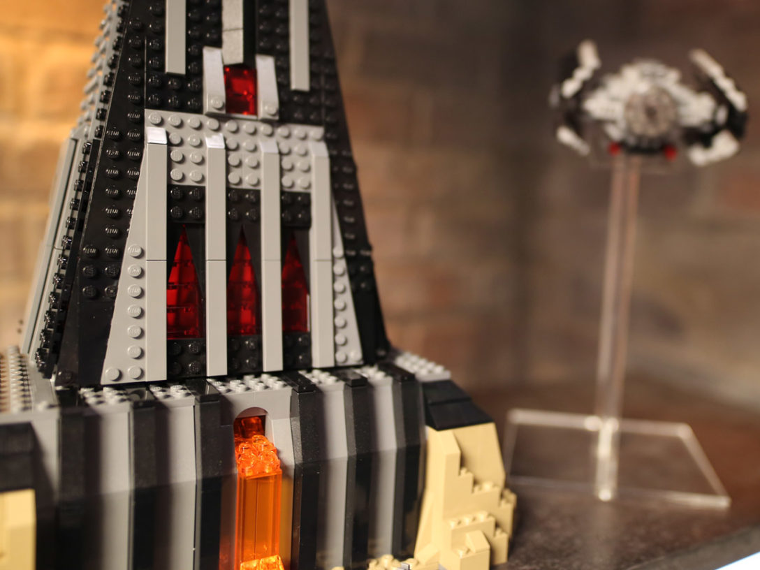 LEGO Darth Vader's Castle is shown.