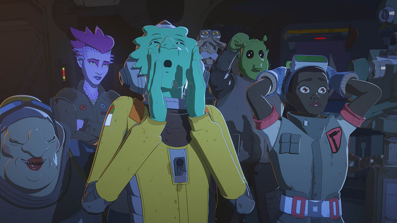 Tam and Neeku in Star Wars Resistance.