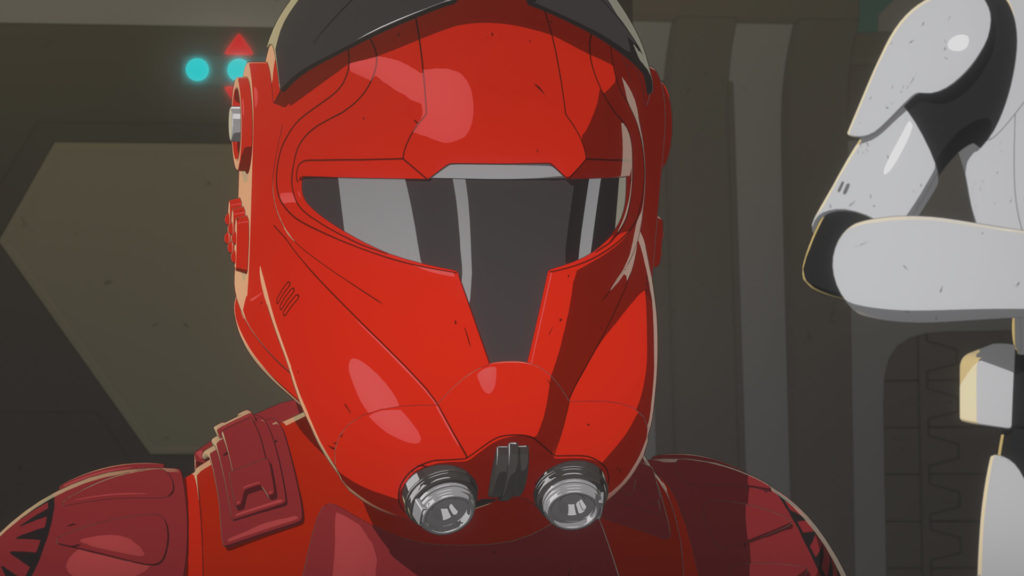 Major Vonreg in Star Wars Resistance.