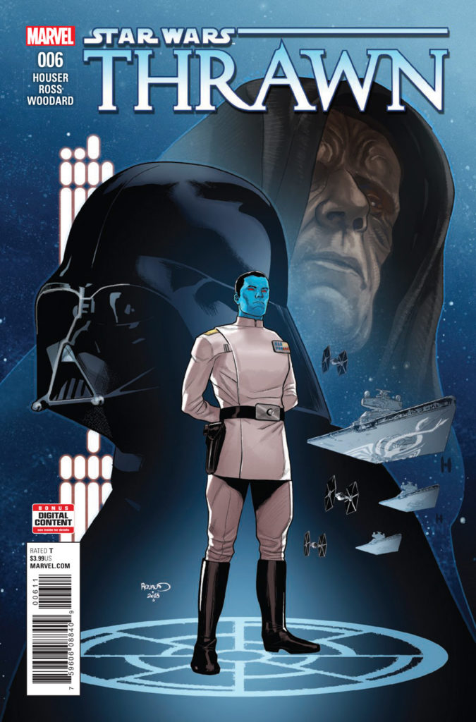 Thrawn #6 cover.