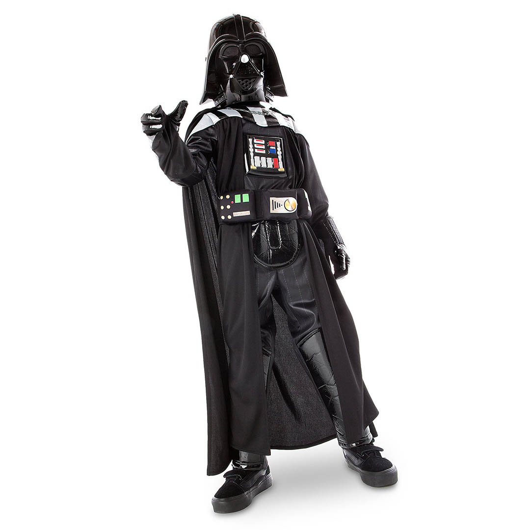 A Darth Vader costume for children.