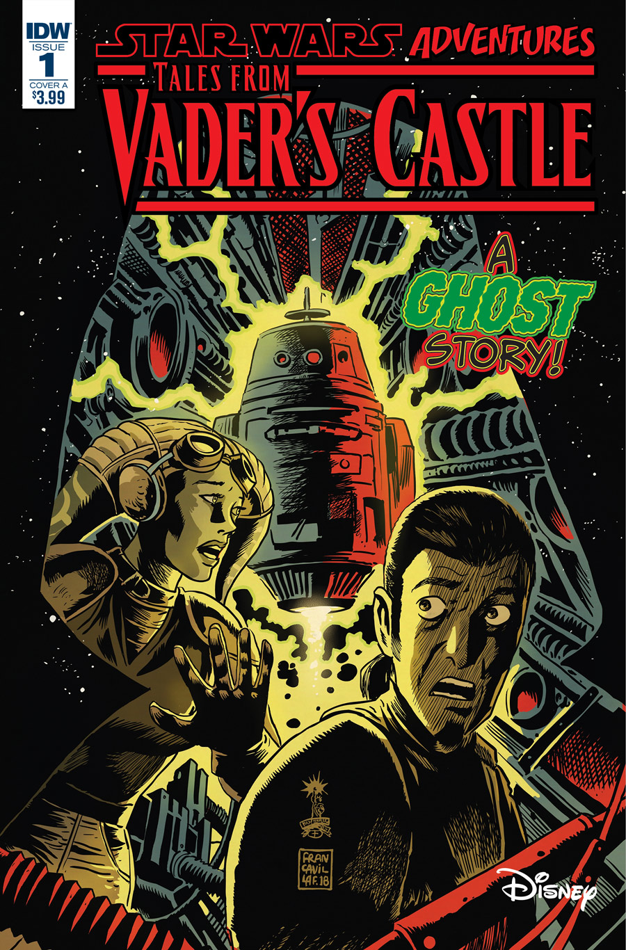 The cover of Tales from Vader's Castle #1.