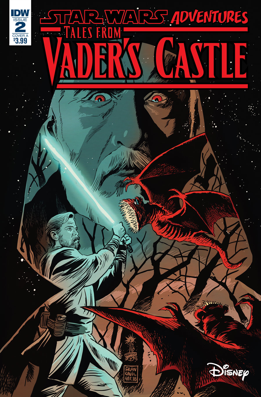 The cover of Tales from Vader's Castle #2.