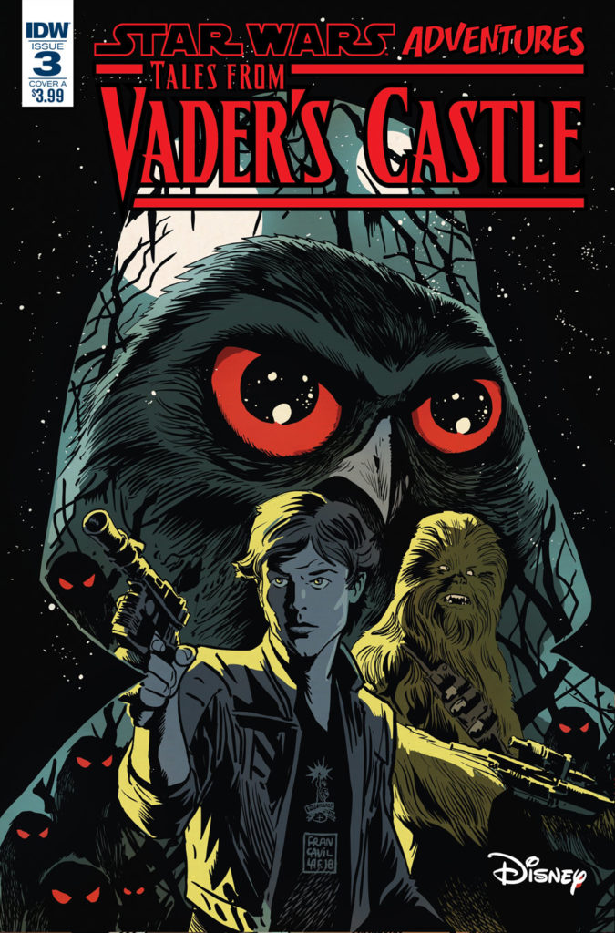 The cover of Tales from Vader's Castle #3.