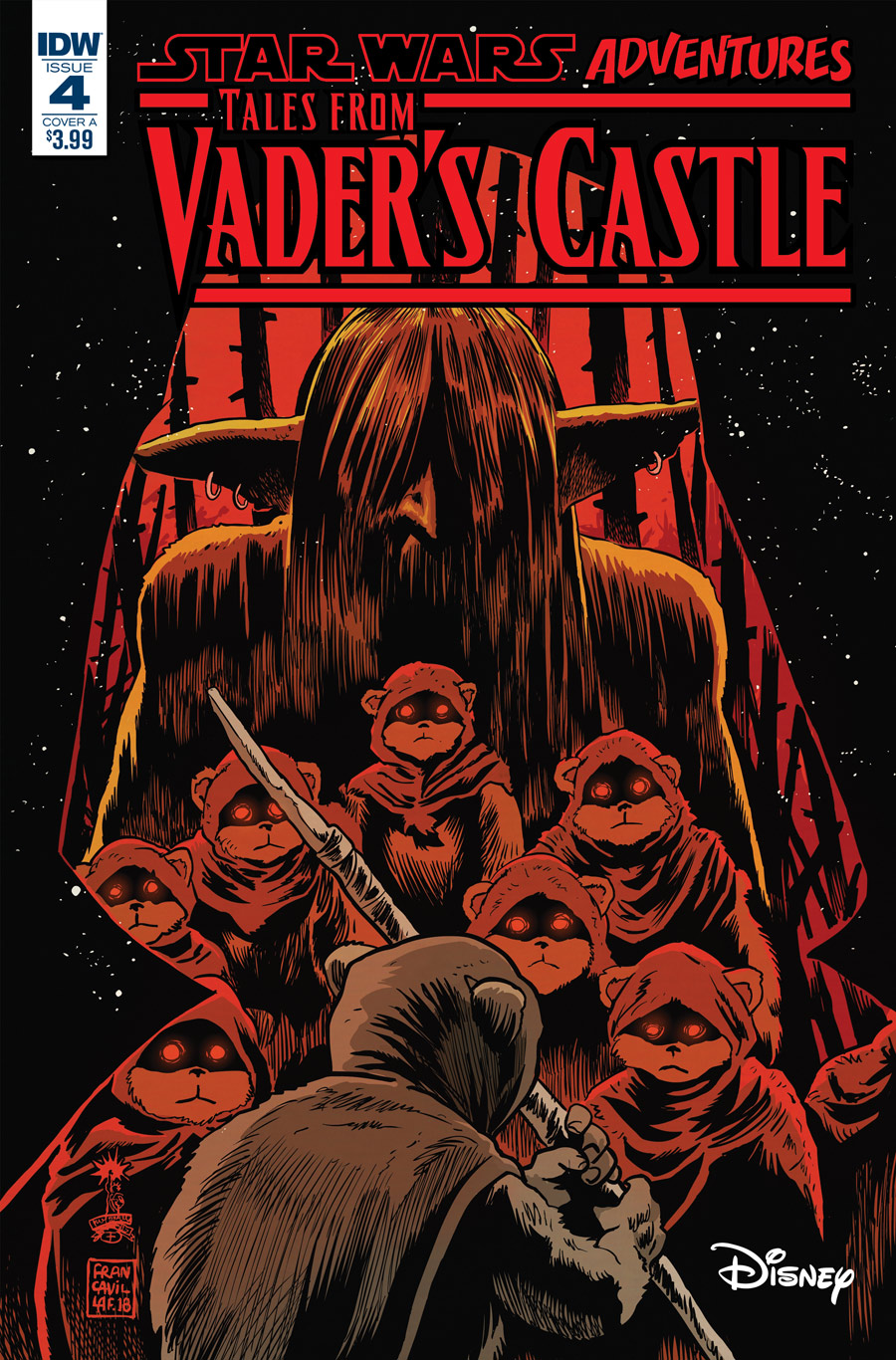 The cover of Tales from Vader's Castle #4.