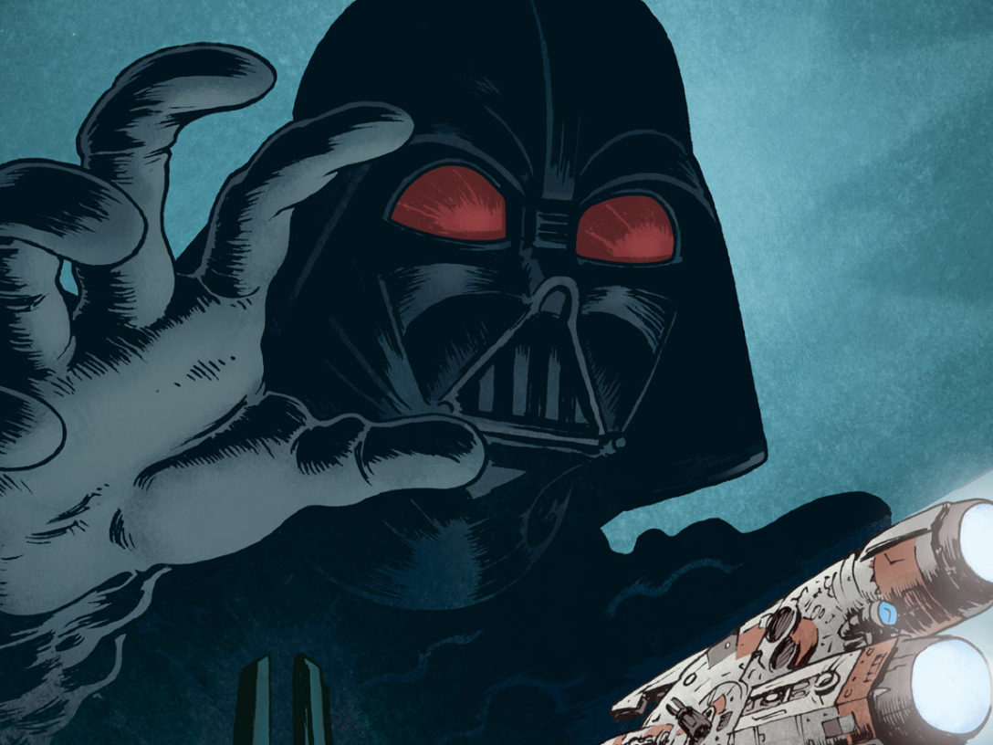 "A variant cover of ""Tales From Vader's Castle"" #5"