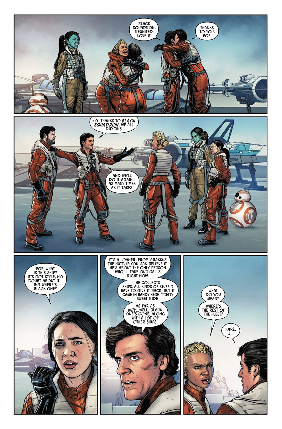 Page 32 from Poe Dameron #31.