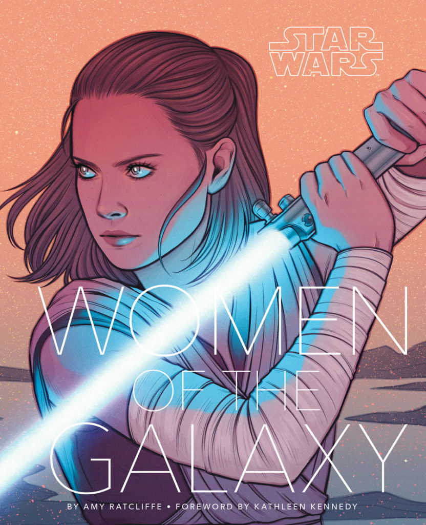Star Wars: Women of the Galaxy book cover.