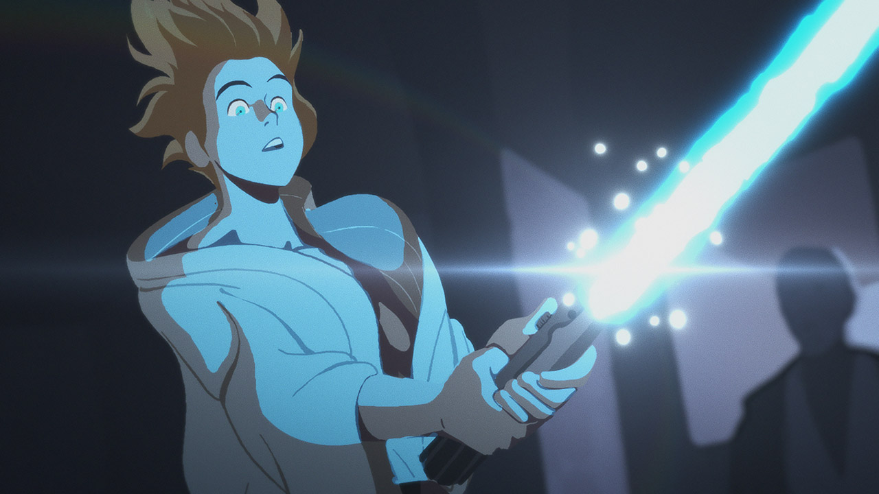Luke in Star Wars Galaxy of Adventures.