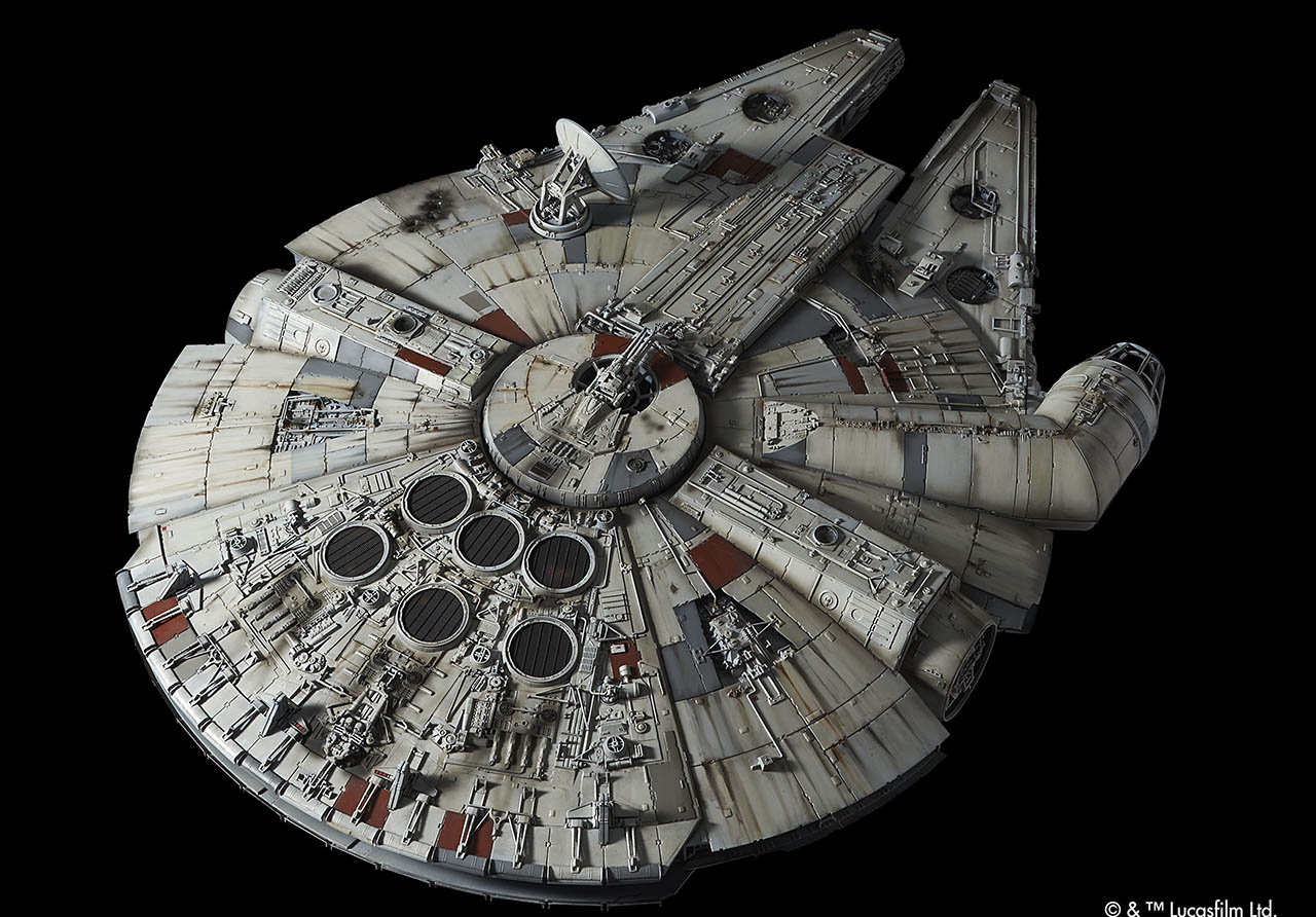 5 Behind-the-Scenes Facts About Bandai's Star Wars Model